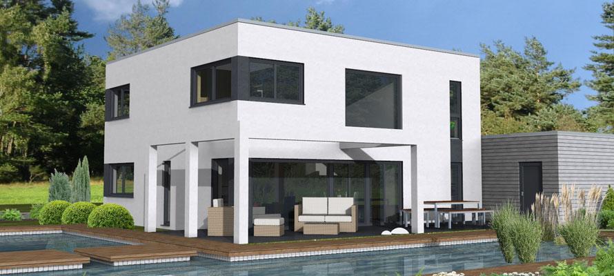 Massivhaus modern  ZENZ Massivhaus