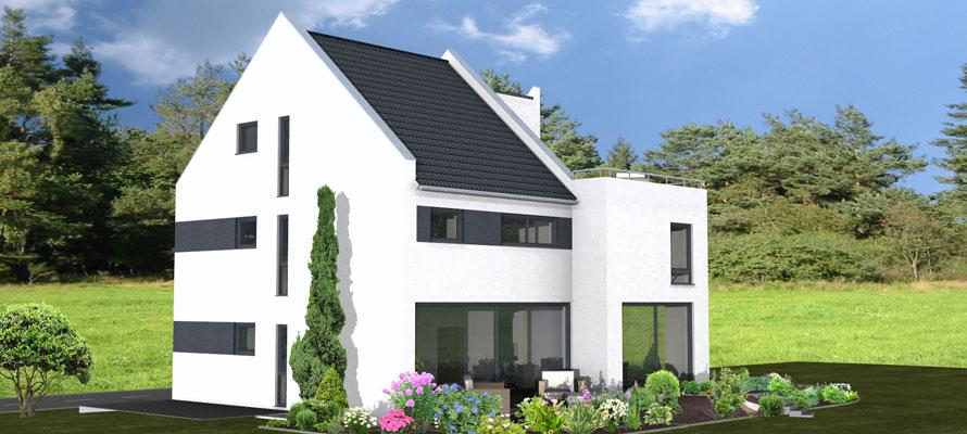 Zenz massivhaus for Modernes haus dachterrasse