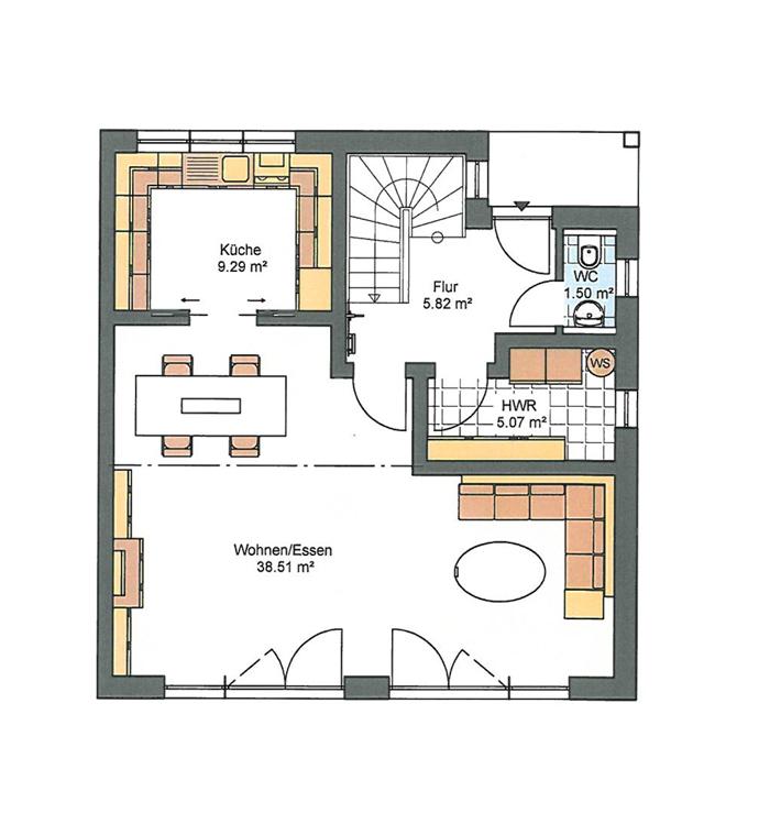 Bauhaus Bau 5 Zenz Massivhaus