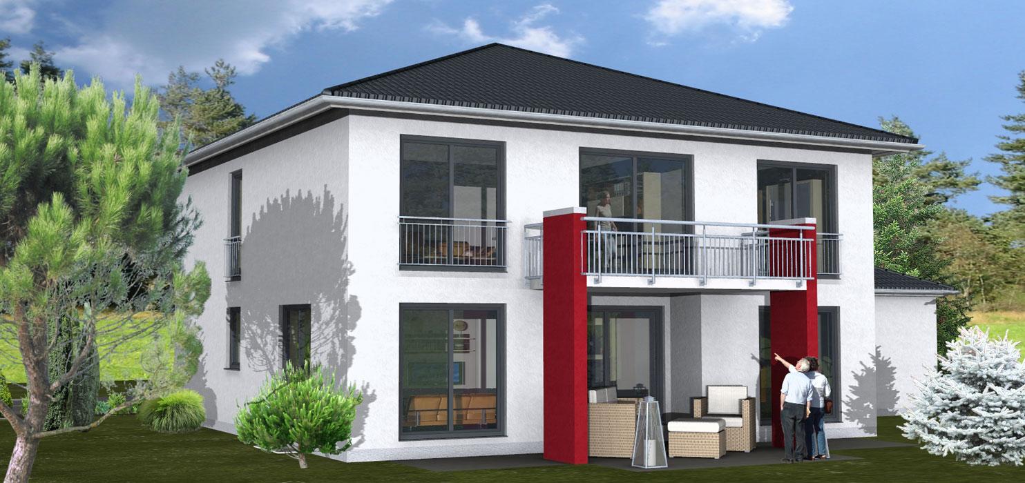 Zenz massivhaus for Doppelhaus oder zweifamilienhaus