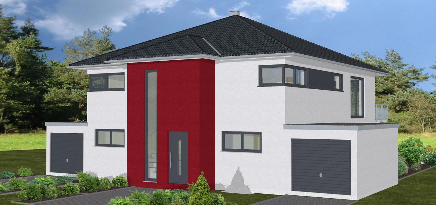 Zenz massivhaus for Zweifamilienhaus stadtvilla