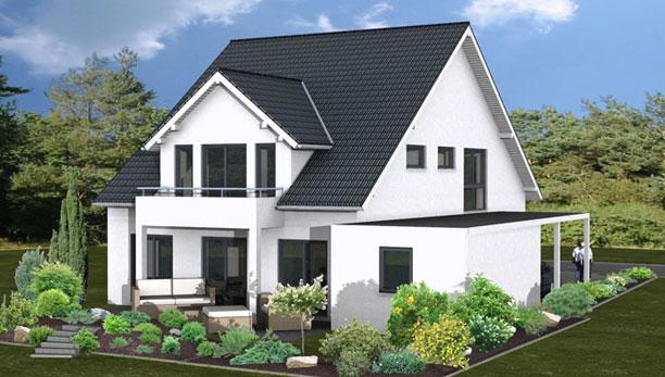 Doppelhaus bauen individuell kompakt zenz massivhaus for Individuell bauen