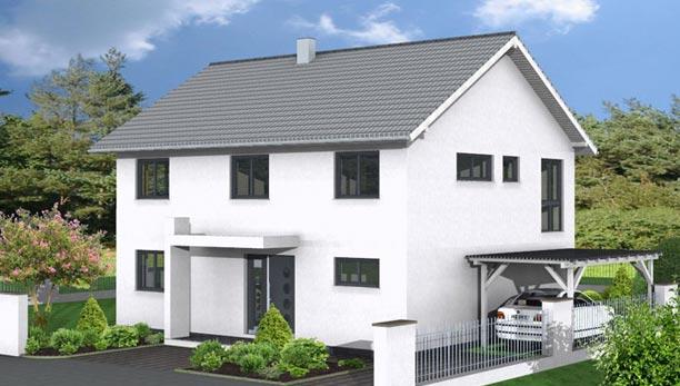 Turbo Einfamilienhaus bauen – modern oder klassisch | Zenz Massivhaus DK96