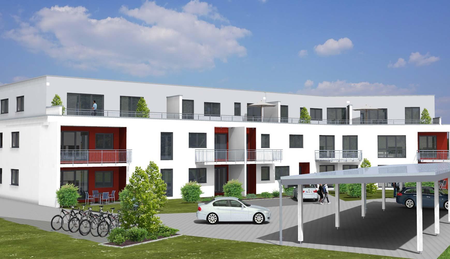 Wohnanlage Schieferland Zenz Massivhaus
